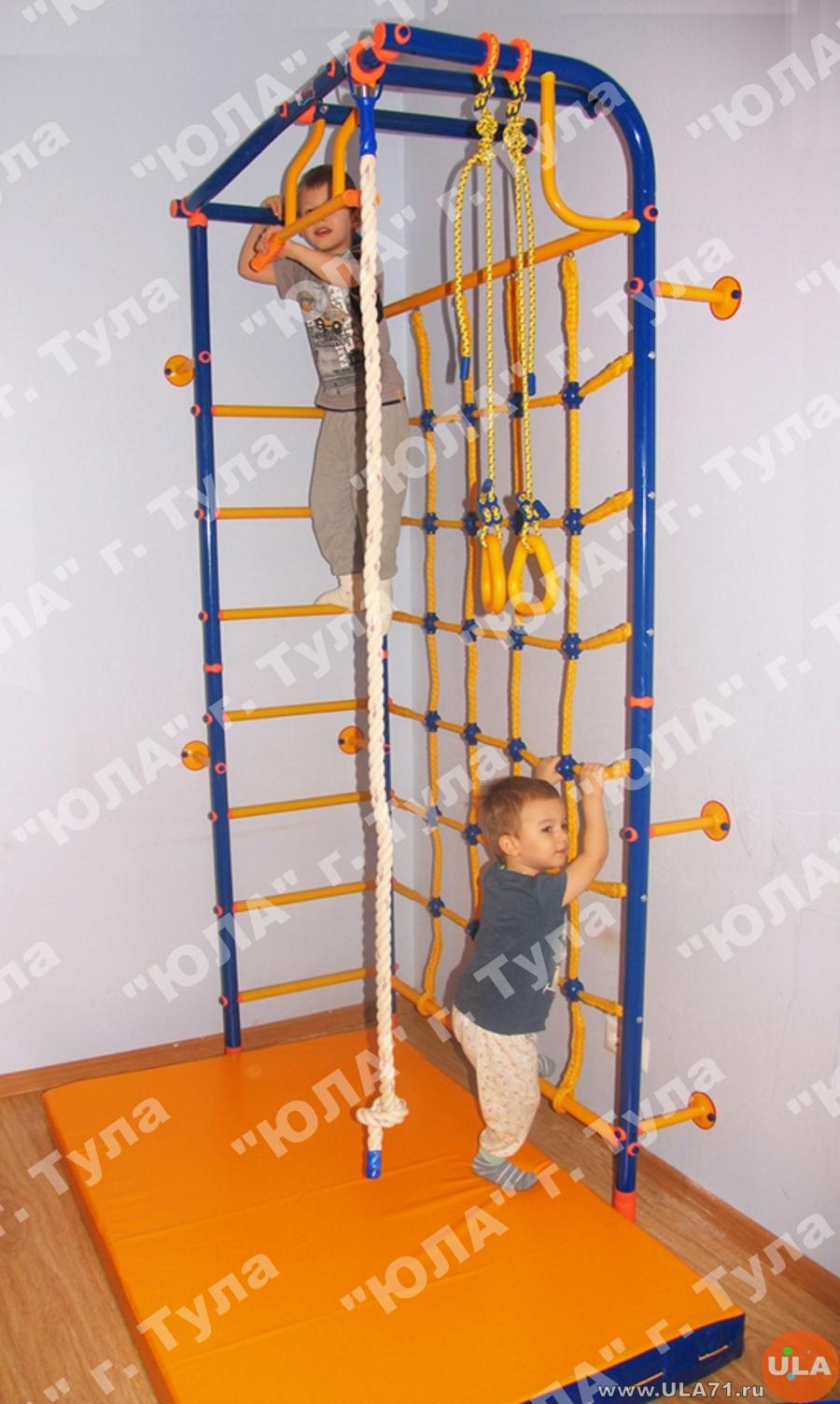 Шведская стенка для детей и взрослых в квартиру фото